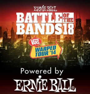Vote for us as many times as you want to WIN a spot on the Vans Warped Tour 2014 !!!