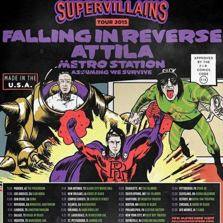 Supervillains Tour 2015