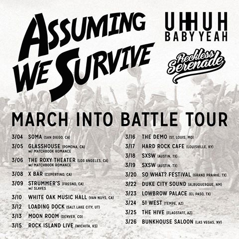 """March Into Battle"" Tour Updated!"