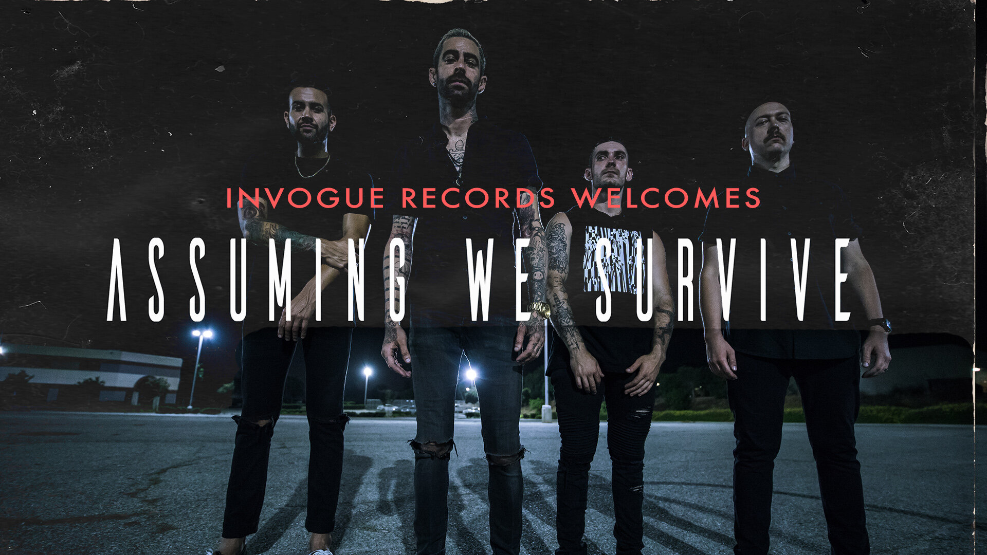We've Signed To InVogue Records!