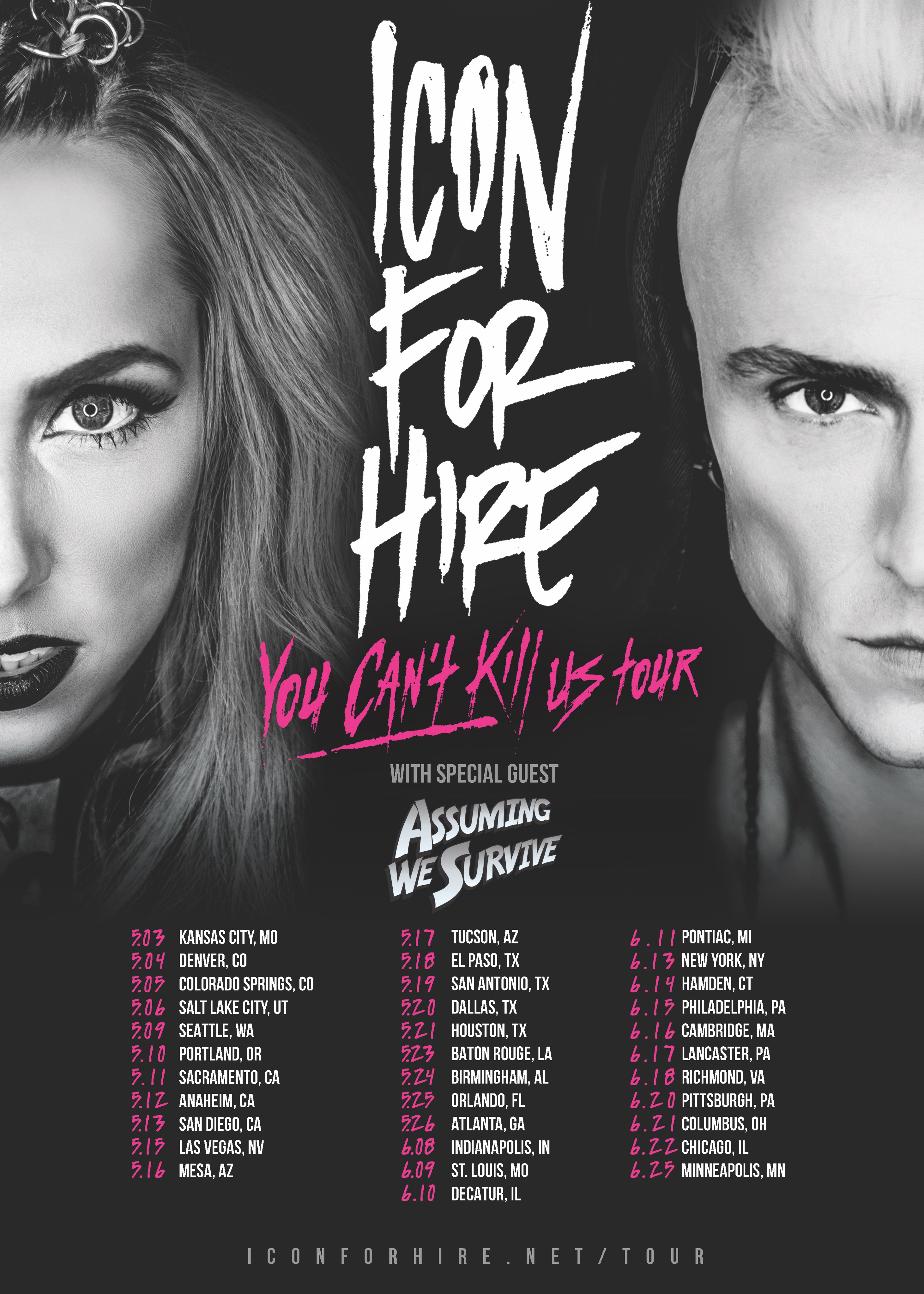 *UPDATE* You Can't Kill Us – Tour Announcement!