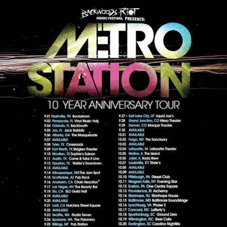 Metro Station 10 Year Anniversary Tour Announcement!