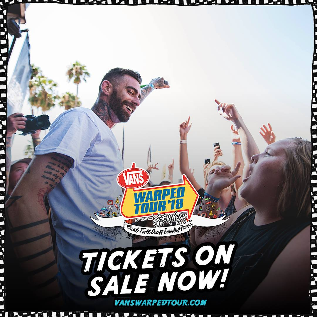 Vans Warped Tour – Catch Us All Summer Long!